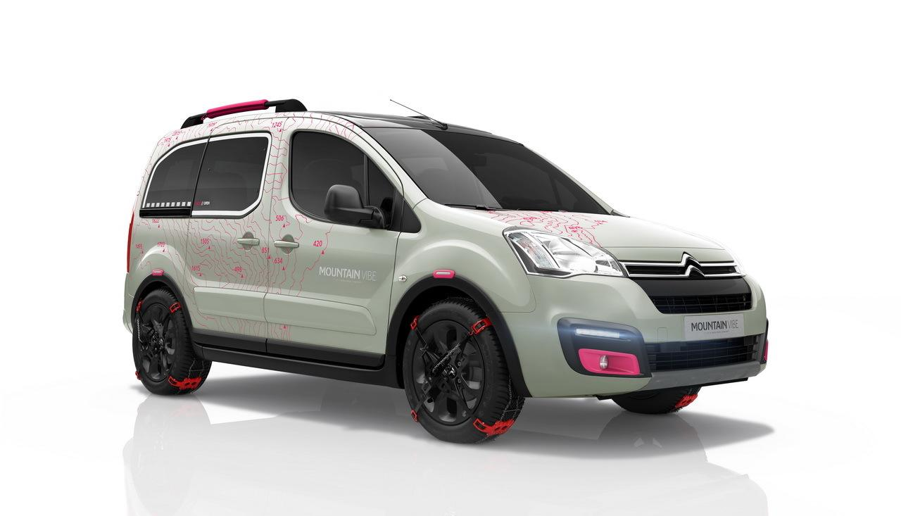 Berlingo Mountain Vibe 2015 concept 3/4 avant