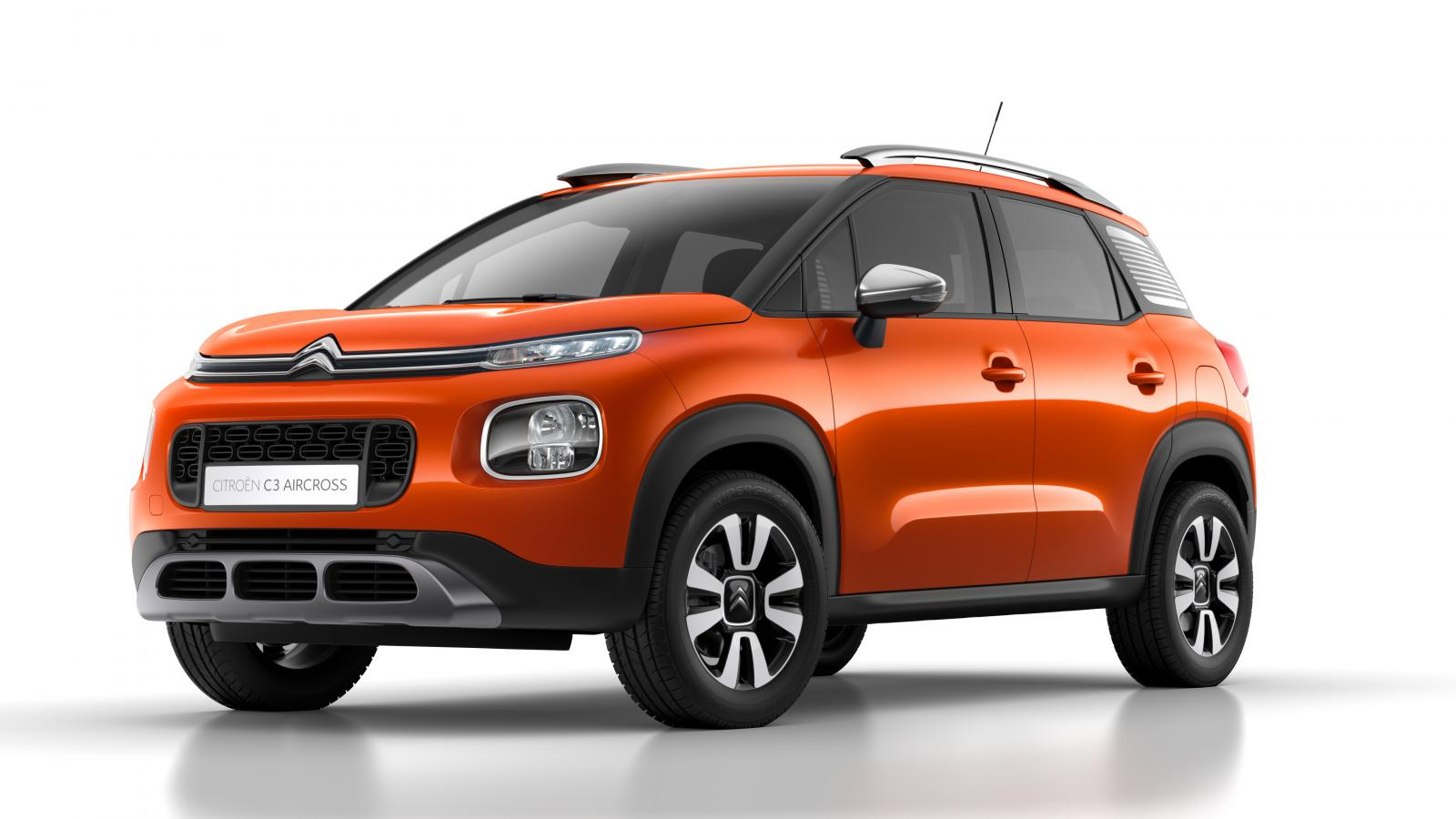 SUV Compact C3 Aircross Spicy Orange